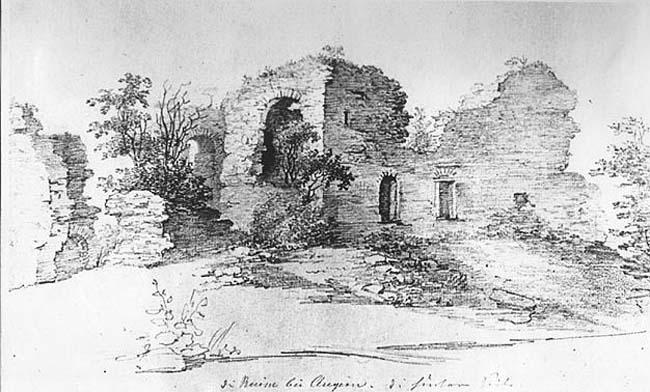 Замок Ангерн — малый замок Ливонского Ордена